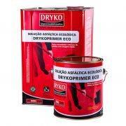 Primer ECO Dryko Asfáltico Base D'Água para Manta Asfáltica - Galão 3,600 litros