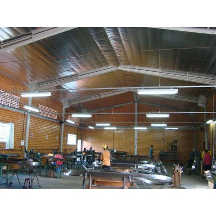 Manta termica para telhado 2 faces (50m²) + Fita - Multifoil FLEX