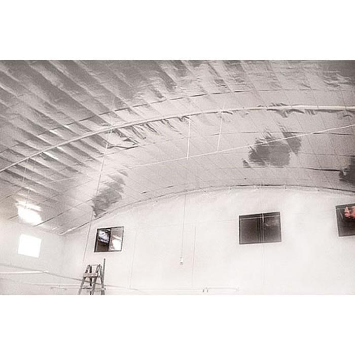 Manta termica para telhado 2 faces (50m²) + Fita - Multifoil PREMIUM PLUS