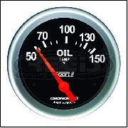 Relogio Temperatura Oleo Eletrico Sport II 60mm Cronomac