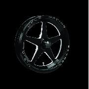WELD ALUMA STAR BLACK 15X3.5 SPINDLE (PAR)