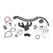 Kit Turbo VW AP Deslocado p/ Ar e Dir. c/ turbina 42x48 c/ bomba