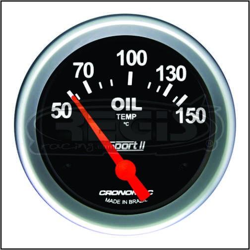 Relogio Temperatura Oleo Eletrico Sport 2 60mm cronomac