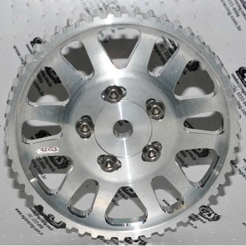 Polia EA111 regulavel em aluminio
