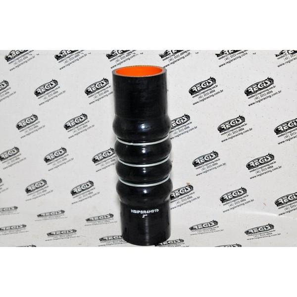 Mangueira de Pressurização de Silicone hump 2´ 200mm