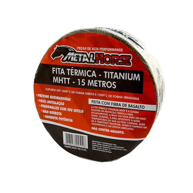 Manta Termica Titanium Rolo 15M