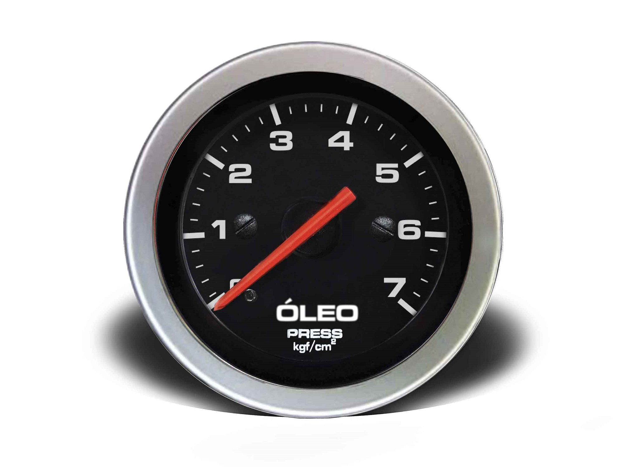 Relogio Pressao de Oleo 7kg Sport 52mm Cronomac