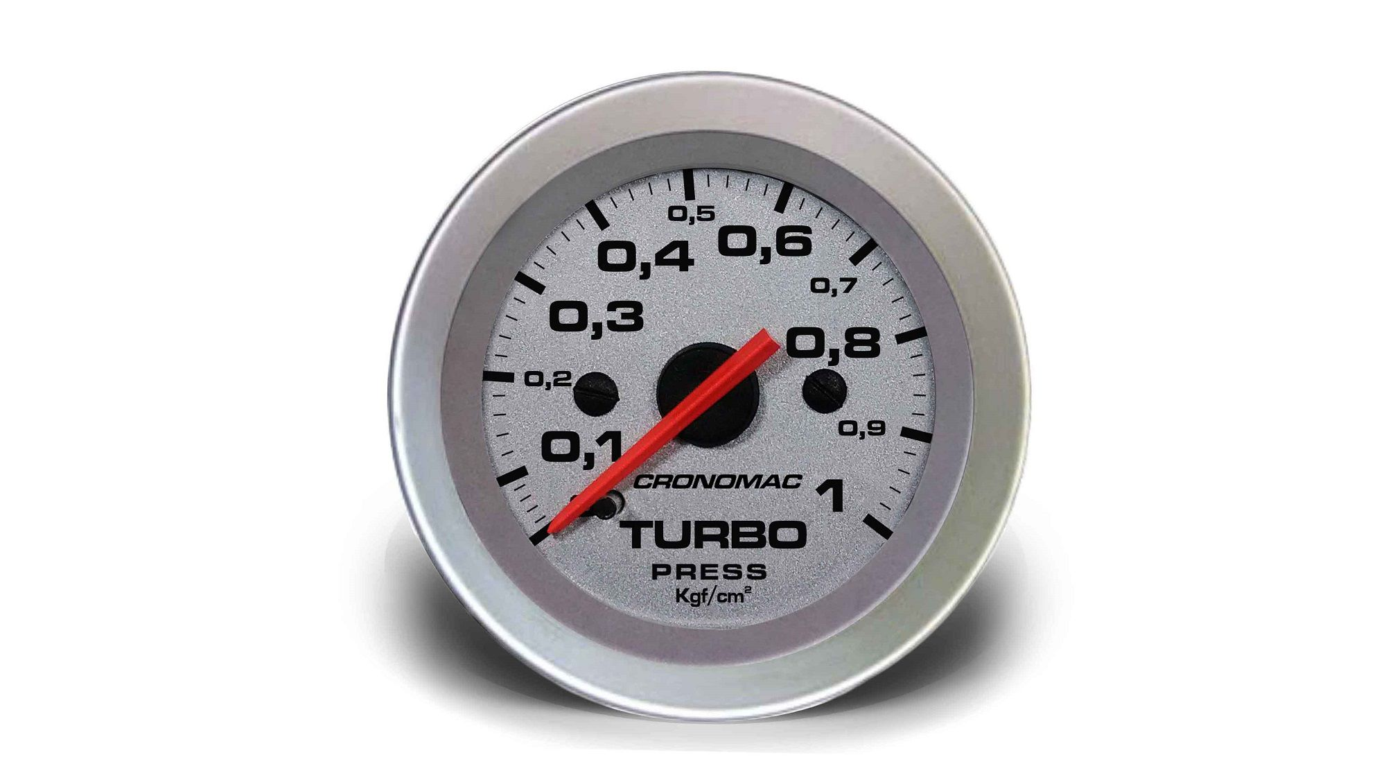 Relogio Pressao de Turbo 1kg Racing 52mm Cronomac