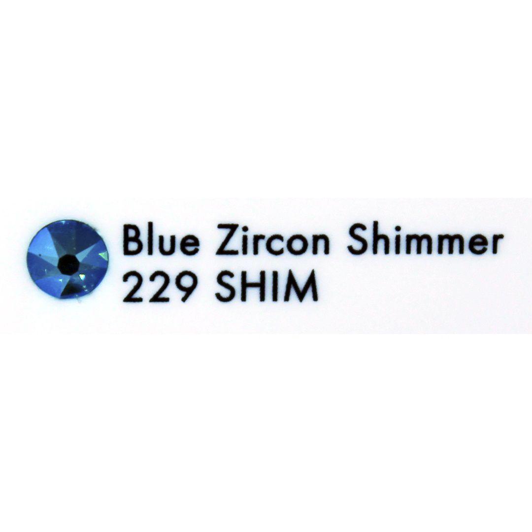 Cristal Swarovski Blue Zircon Shimmer