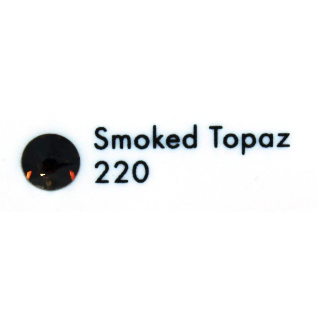 Cristal Swarovski Smoked Topaz