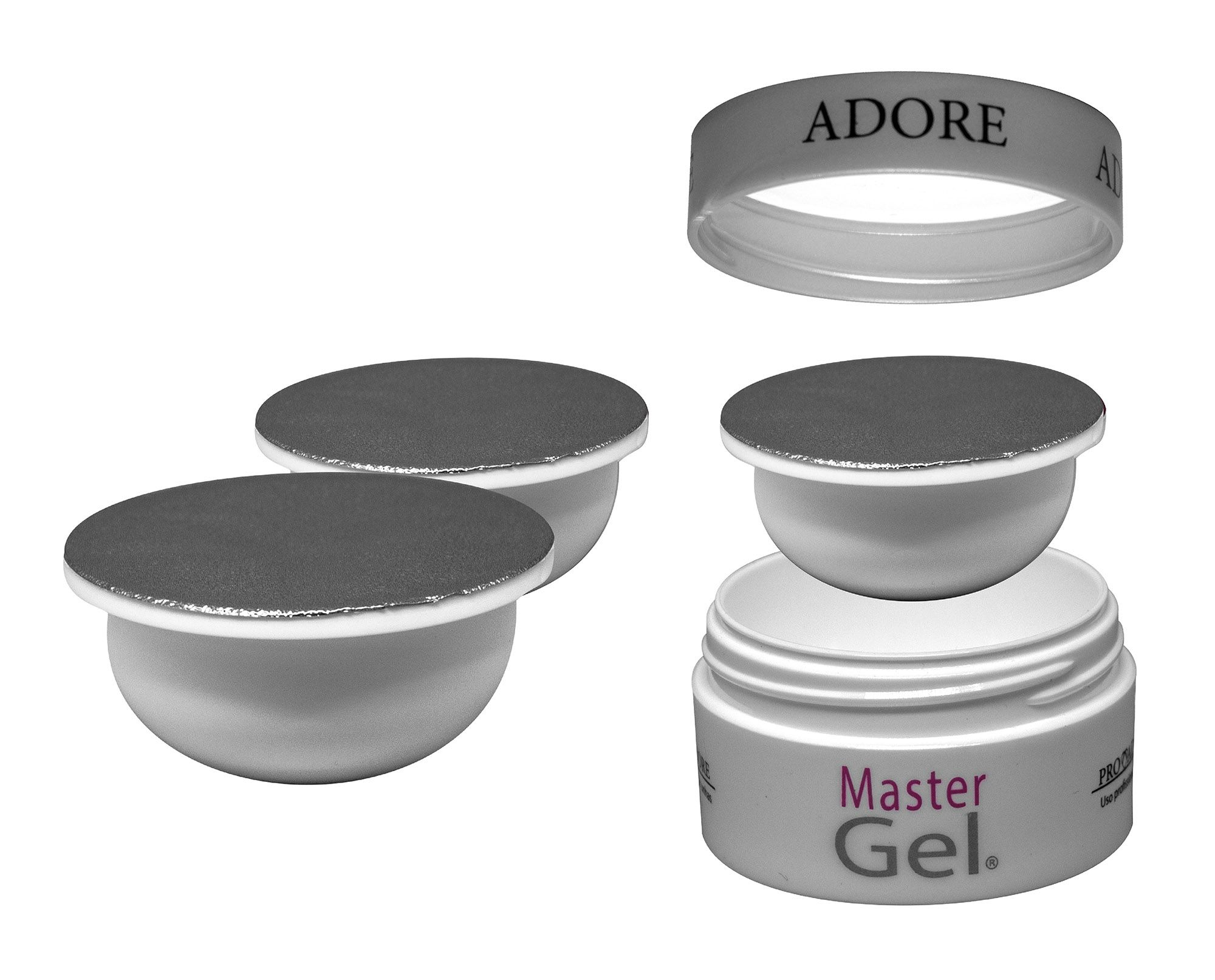 Kit Refil - 3 Master Gel Clear