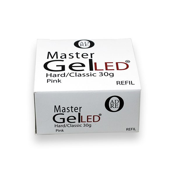 Master Gel LED/UV Hard Classic Clear - Refil 30g