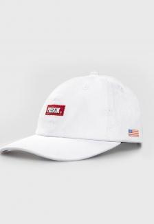 Boné Strapback Dad Hat Aba Curva Prison Branco