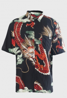 CADASTRO PROVISÓRIO Camisa social Prison Dragon