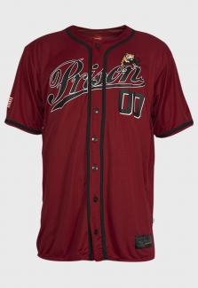 Camisa Baseball Red Tigers Prison