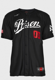 Camisa de Baseball New League Prison