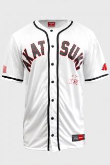 Camisa de Baseball Prison Akatsuki Branco