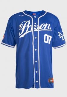 Camisa de Baseball Blue Yorks Prison