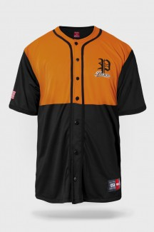 Camisa de Baseball Prison Premium Edition Laranja