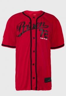 Camisa de Baseball Prison Red 72