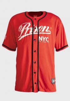 Camisa de Baseball Red NYC Prison