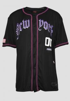 Camisa de baseball New York Purple Prison