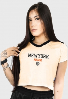 Cropped Prison NY Track Off White
