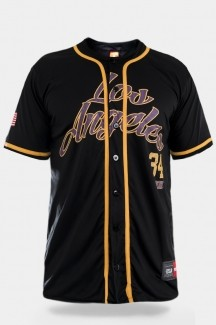 Camiseta de Baseball Prison Streetwear Los Angeles 34