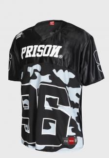 Camiseta Futebol Americano Usa League Prison