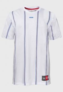 Camiseta Listrada Prison Primary Blue