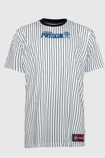 Camiseta listrada Vertical Prison N.Y.