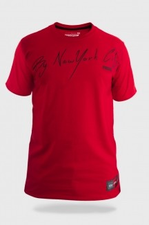 Camiseta Prison By The NY City Red
