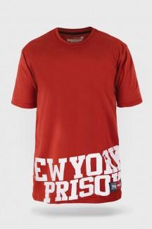 Camiseta Prison Low New York Vermelha