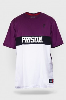 Camiseta Prison Purple Outline