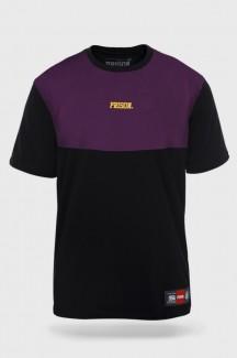 Camiseta Prison Purple Vision Preta