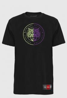 Camiseta Prison Tiger Purple Green
