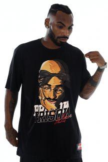 Camiseta Prison Tupac Shakur Preta