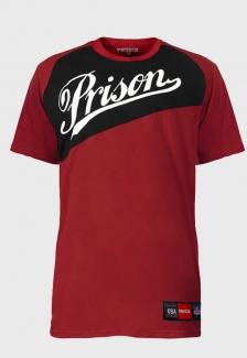 Camiseta Prison Vermelha Double Color