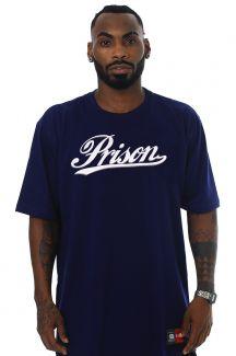 Camiseta Streetwear Logo Shape Azul Marinho