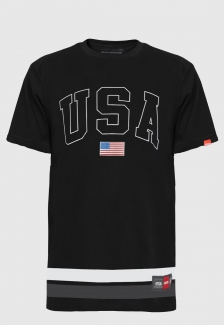 Camiseta Streetwear Prison Line USA