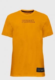 Camiseta Streetwear Prison Logo Orange
