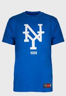Camiseta Streetwear Prison NY Blue
