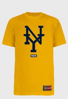Camiseta Streetwear Prison NY Yellow
