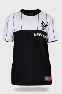 Camiseta Streetwear Prison The New York Stripes
