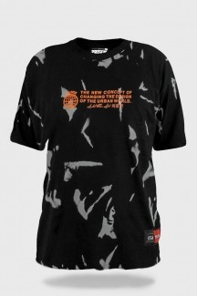 Camisa Tie Dye Prison The Urban World Black
