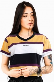 Camisa Cropped Prison Retro Satured