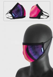 Máscara Prison tie-dye Lilás