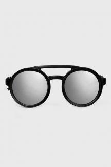 Óculos de Sol Redondo Espelhado Prison Future Soldier Prata
