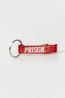 Prison Abridor de garrafa Premium Red