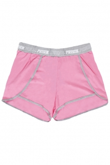 Shorts Feminino Streetwear Comfort Way Mescla Pink